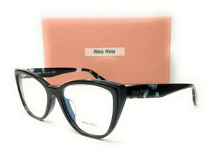 Miu Miu VMU 04S-A 06E-1O1 Havana Black White Women's Eyeglasses 54mm