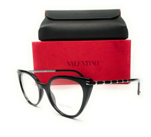 Valentino VA3040 5001 Black Demo Lens Women's Eyeglasses 53mm