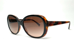 GIORGIO ARMANI AR8047 504913 Top Black Havana Brown Grad Women's Sunglasses 56mm