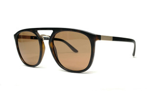 GIORGIO ARMANI AR8118 508973 Matte Havana Brown Men's Sunglasses 53mm