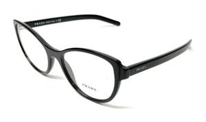 New Prada VPR 12V 1AB-1O1 Black Women's Authentic Eyeglasses Frame 54-18