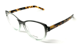 New Prada VPR 12V 476-1O1 Green Gradient Women Authentic Eyeglasses Frame 54-18