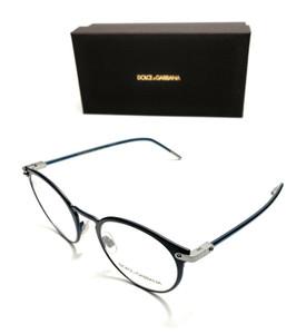 Dolce & Gabbana DG 1318 1280 Blue Men's Authentic Eyeglasses Frame 50-21