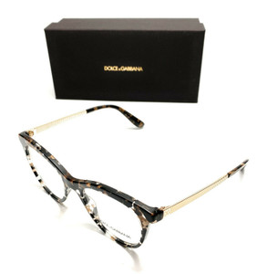 Dolce & Gabbana DG 3316 911 Havana Women's Authentic Eyeglasses Frame 52-18