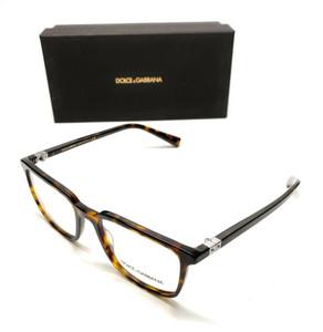 Dolce & Gabbana DG 3304 502 Havana Men Authentic Eyeglasses Frame 54-19
