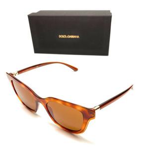 Dolce & Gabbana DG4362 3212/73 Havana Women Authentic Sunglasses 51 mm
