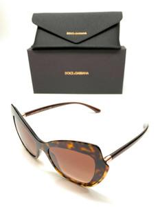 Dolce & Gabbana DG4361 502/13 Havana Women Authentic Sunglasses 52 mm