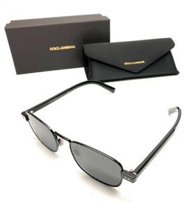 Dolce & Gabbana DG2222 01/87 Black Men Authentic Sunglasses 52 mm