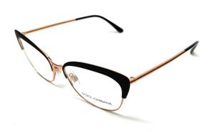 New Dolce & Gabbana DG 1298 01 Black Women's Authentic Eyeglasses Frame 54-16