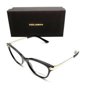Dolce & Gabbana DG5042 501 Black Women Authentic Eyeglasses 50 mm