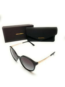 Dolce & Gabbana DG4358 501/8G Black Women Authentic Sunglasses 50 mm