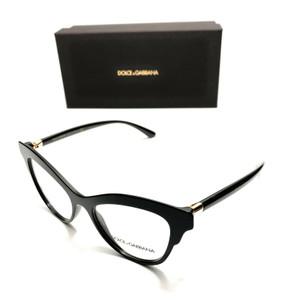 Dolce & Gabbana DG 3313 501 Black Women's Authentic Eyeglasses Frame 52-17