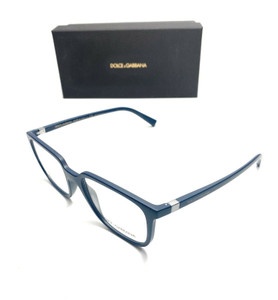 Dolce & Gabbana DG5029 3017 Blue Rectangle Men Authentic Sunglasses 52 mm