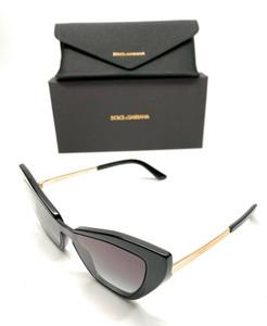 Dolce & Gabbana DG 4357 501/8G Black Women Authentic Sunglasses 140 mm