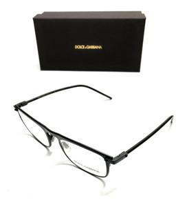 Dolce & Gabbana DG 1315 1106 Black Men's Authentic Eyeglasses Frame 51-19
