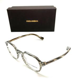 Dolce & Gabbana DG 3297 3220 Striped Grey Women Authentic Eyeglasses Frame 48-20