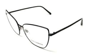 New Dolce & Gabbana DG 1314 01 Black Women's Authentic Eyeglasses Frame 56-17