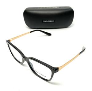 Dolce & Gabbana DG 3317 501 Black Women Authentic Eyeglasses Frame 54-17