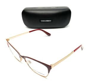 Dolce & Gabbana DG 1310 1333 Burgundy Women Authentic Eyeglasses Frame 52-17