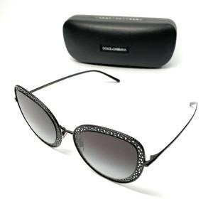 Dolce & Gabbana DG 2226 01/8G Black Women's Authentic Sunglasses 54 mm