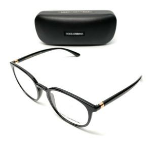 Dolce & Gabbana DG 5033 501 Black Women Authentic Eyeglasses Frame 52-20