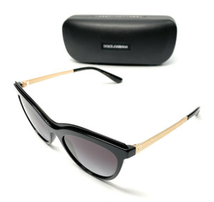 Dolce & Gabbana DG 4335 501/8G Black Women's Authentic Sunglasses 54 mm