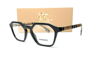 BURBERRY BE2294 3757 Black Demo Lens Women's Eyeglasses 49 mm