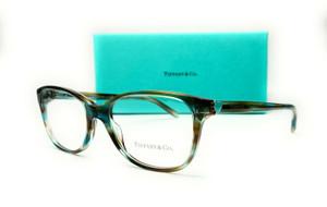 TIFFANY & co. TF2097 8124 Ocean Turquoise Demo Lens Women's Eyeglasses 52 mm