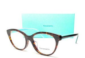 TIFFANY TF2188 8015 Havana Demo Lens Women's Eyeglasses 53 mm
