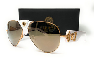VERSACE VE2150Q 13415A Gold Men's Sunglasses 62 mm