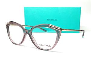 TIFFANY TF2198B 8314 Transparent Pink Women's Eyeglasses 51 mm