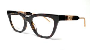 Gucci GG0601O 005 Havana Square Women's Eyeglasses 50 mm