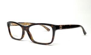 GUCCI GG0316O 002 Havana Women's Eyeglasses 54 mm