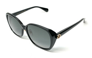 Gucci GG0371SK 001 Black Women's Sunglasses 57 mm