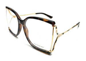 GUCCI GG0592O 002 Havana Women's Square Eyeglasses 60 mm