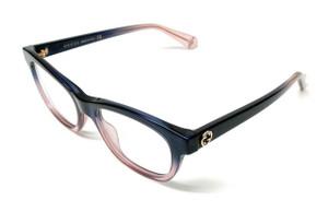 GUCCI GG0372O 007 Blue Demo Lens Women's Eyeglasses 48 mm