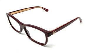 GUCCI GG0316O 003 Burgundy Women's Authentic Eyeglasses 54 mm