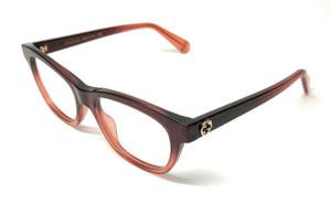 GUCCI GG0372O 006 Brown Women's Eyeglasses 48 mm