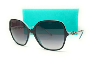 TIFFANY TF4145BF 80553C Black Grey Gradient Women's Sunglasses 57 mm