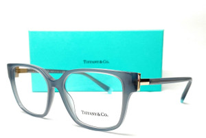 Tiffany TF2197 8263 Grey Square Rectangle Women's Eyeglasses 52 mm