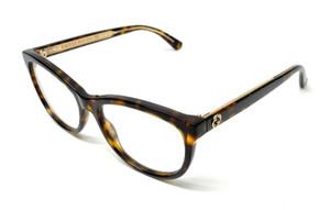 Gucci GG0310O 002 Havana Women's Authentic Eyeglasses 53 mm