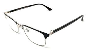 GUCCI GG0131O 003 Dark Blue Men's Authentic Eyeglasses Frame 53 mm