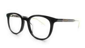 GUCCI GG0845OK 004 Black Square Men's Eyeglasses 53 mm
