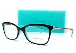 TIFFANY TF2169F 8055 Black Rectangle Square 53 mm Women's Eyeglasses
