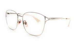 GUCCI GG0819OA 003 Silver Square Rectangle Women's Eyeglasses 56 mm