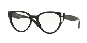 VALENTINO VA3030 5001 Black Pilot Women's Eyeglasses 51 mm