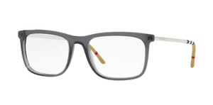 BURBERRY BE2274 3544 Grey Men's Rectangle Eyeglasses 55 mm
