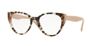 VALENTINO VA3030 5097 Havana Brown Cat Eye Women's Eyeglasses 51 mm