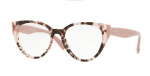 VALENTINO VA3030 5098 Havana Pink Cat Eye Women's Eyeglasses 53 mm