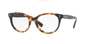 VALENTINO VA3009 5005 Havana Oval Women's Eyeglasses 52 mm